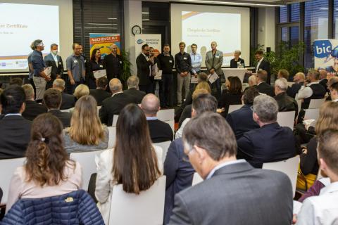 Kaiserslautern, Bic, 1,2,3 Go, Businessplan-Wettbewerb. 21.10.2019  Foto: Joachim Ackermann/ view
